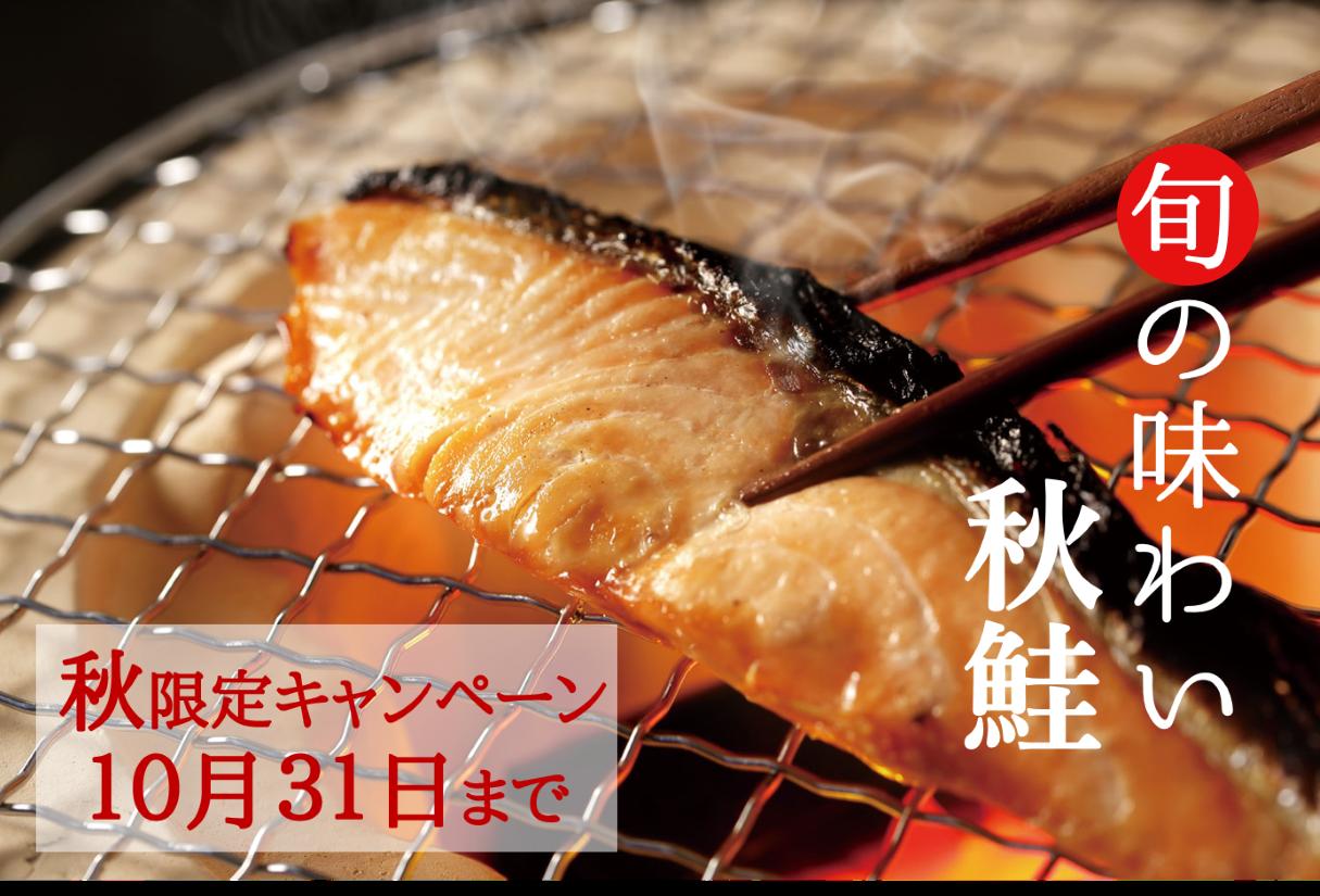 秋鮭 秋キャン